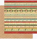 Graphic 45 12x12 Paper 12 Days of Christmas Joyeux Noel