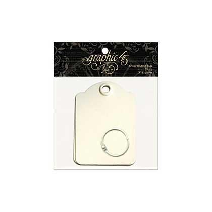 SO: Staples Artist Trading Tag Album 3.5x2.5 - Ivory
