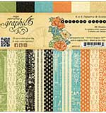 Graphic 45 Paper Pad 6x6 36pk - Artisan Style