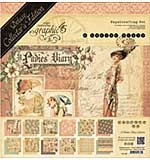 Graphic 45 Deluxe Collectors Edition Pack 12x12 - Ladies Diary
