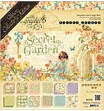 SO: Graphic 45 Deluxe Collectors Edition Pack 12x12 - Secret Garden