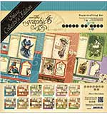 SO: Graphic 45 Deluxe Collectors Edition Pack 12x12 - Place In Time - Undated Calender Designs