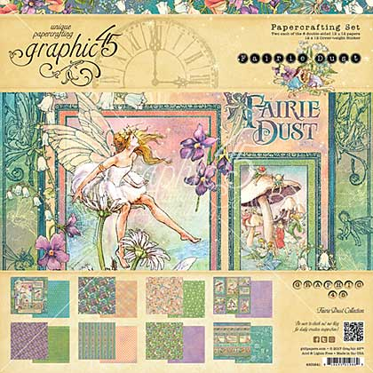Graphic 45 Fairie Dust Collection Pack 12x12