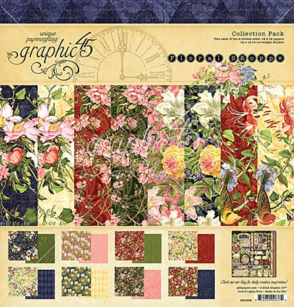 Graphic 45 Floral Shoppe Collection Pack 12x12