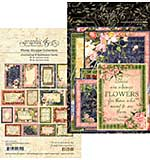 PRE: Graphic 45 Floral Shoppe Journaling and Ephemera Cards 32pk (4x6 and 3x4)