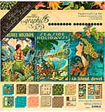SO: Graphic 45 Tropical Travelogue - Deluxe Collector's Edition Pack 12x12