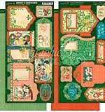 SO: Christmas Magic Cardstock Die-Cuts 6X12 Sheets 2pk - Tags and Pockets