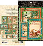 Christmas Magic Ephemera Cards 32pk - 4x6 and 3x4