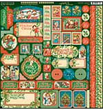 SO: Christmas Magic Cardstock Stickers 12X12