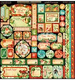 Graphic 45 Deluxe Collectors Edition Pack 12X12 - 12 Days Of Christmas
