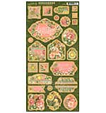 SO: Garden Goddess Chipboard Die-Cuts 6X12 Sheet - Decorative and Journaling
