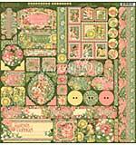 Garden Goddess Cardstock Stickers 12X12
