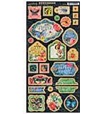 Flutter Chipboard Die-Cuts 6X12 Sheet - Decorative and Journaling
