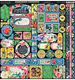 Flutter Cardstock Stickers 12X12