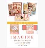 Graphic 45 - Club G45 - Vol 7 Imagine Wallet Fold Album & 3D Z-Fold Cards