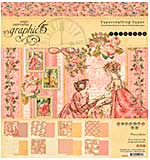 Graphic 45 Princess Double-Sided Paper Pad 8x8 24pk (8 Designs)