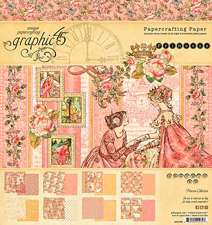 SO: Graphic 45 Princess Double-Sided Paper Pad 8x8 24pk (8 Designs)