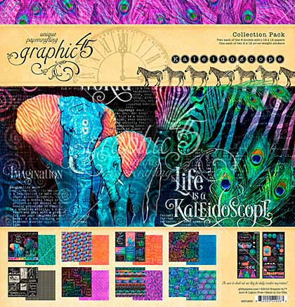 SO: Graphic 45 Kaleidoscope Collection Pack 12X12