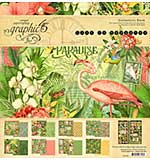 Graphic 45 Lost In Paradise Collection Pack 12x12