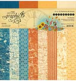 PRE: Graphic 45 Dreamland - 12x12 Double-Sided Paper Pad 16pk (8 Designs, 2 Each)