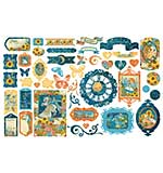 PRE: Graphic 45 Dreamland - Cardstock Die-Cut Assortment (NEW)