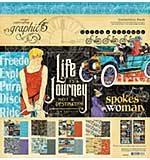 PRE: Graphic 45 Lifes a Journey - 12x12 Collection Pack