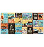 PRE: Graphic 45 Lifes a Journey - Ephemera Cards - (16) 4x6 and (16) 3x4