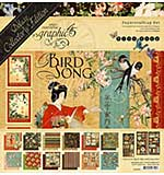 Graphic 45 Bird Song - 12x12 Deluxe Collectors Edition Pack