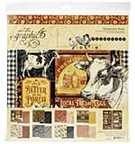 SO: Graphic 45 Farmhouse - 12x12 Collection Pack