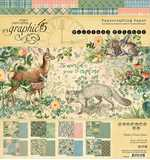 SO: Graphic 45 Woodland Friends - 8x8 Double-Sided Paper Pad, 24pk