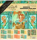 Graphic 45 Voyage Beneath The Sea Deluxe Collectors Edition Pack 12x12