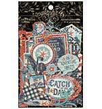 SO: Graphic 45 Catch of the Day - Cardstock Die-Cut Assortment