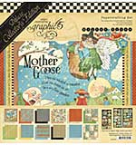 Graphic 45 Mother Goose Deluxe Collectors Edition Pack 12x12