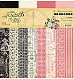 SO: Graphic 45 Elegance - 12 x 12 Double-Sided Paper Pad, 16pk
