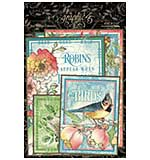 Graphic 45 Bird Watcher - Ephemera and Journaling Cards (16) 4x6 (16) 3x4