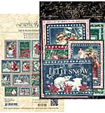 Graphic 45 Let It Snow - Journaling Cards