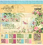 SO: Graphic 45 Bloom Collection Pack 12x12