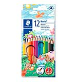 STAEDTLER Pack of 12 Noris Club colouring pencils