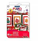 FIMO Christmas Colour Pack and Moulds Soft Modelling Clay