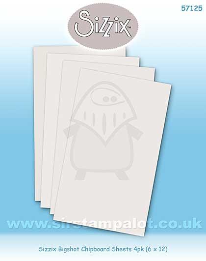 Stix 2 - Sizzix Bigshot Chipboard Sheets 4pk (6 x 12)