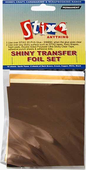 SO: Stix 2 - Shiny Decorative Transfer Foil - Set #4 (10PK)