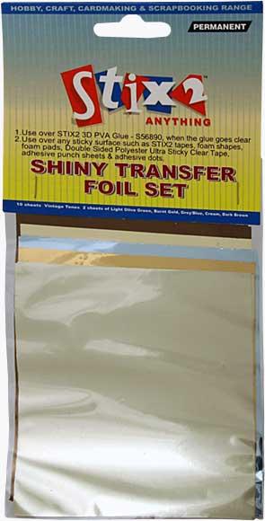 SO: Stix 2 - Shiny Decorative Transfer Foil - Set #6 (10PK)