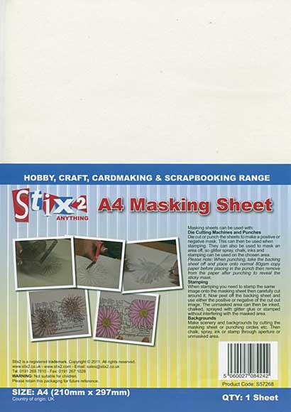 Stix 2 - A4 Masking Sheet