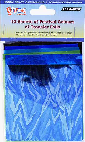 Stix 2 - Transfer Foil Sheets - Festival Colours (12PK)