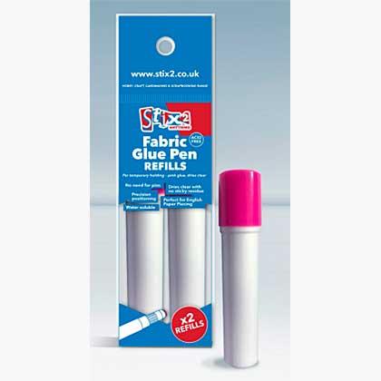 Fabric Glue Pen Refills - 2 pk