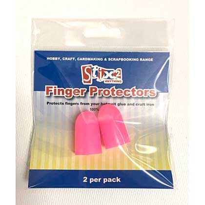 SO: Silicone Finger Protectors (2 pk)