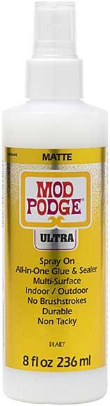 Mod Podge Ultra 8oz Matte Spray On Sealer