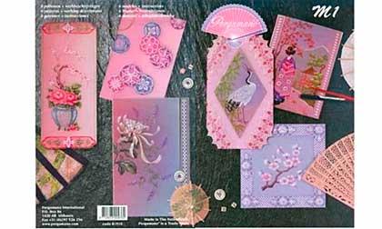 Pergamano M1 Magazine - Oriental Designs