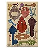 SO: Heartfelt Creations Die - Burnished Keys