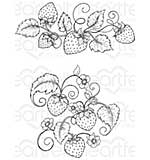 PRE: Heartfelt Creations - Blooming Berries (BB16 Cling Rubber Stamp Set)